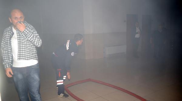 Adliye Emanet Deposunda Yangın