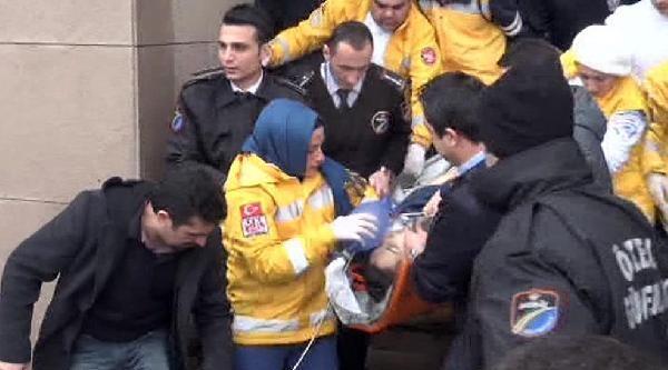 Adliyedeki Saldırıda Ağır Yaralanan Polis Hastanedeki Tüm Müdahalelere Rağmen Kurtarılamadı