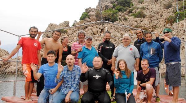 Adrasan Ve Olimpos'ta Dalış Sezonu Açıldı