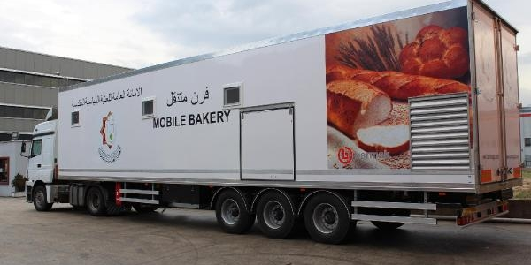 Afet Sonrasi Ekmek Üretimi Için Mobil Firin