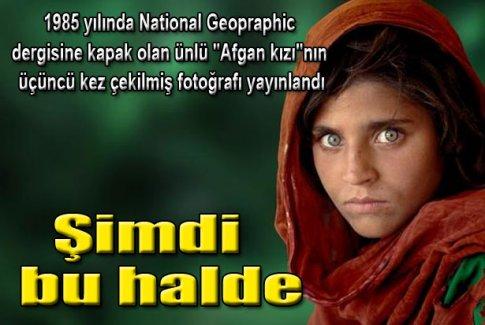 Afgan kızı'nın son hali