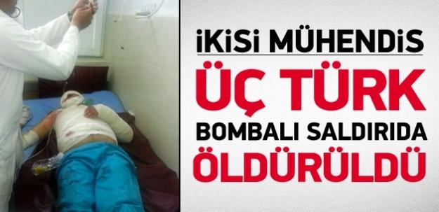 Afganistan'da intihar saldırısı! 3 Türk öldü...