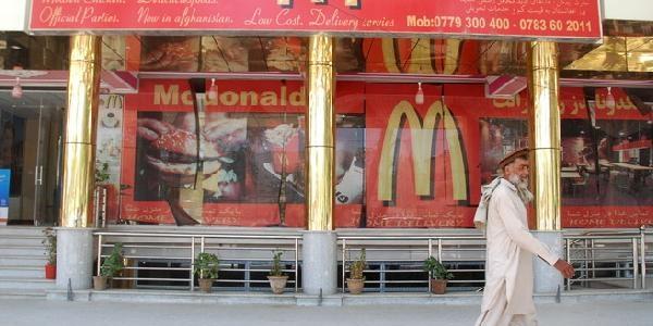 Afganistan'in Mcdonald'S'i