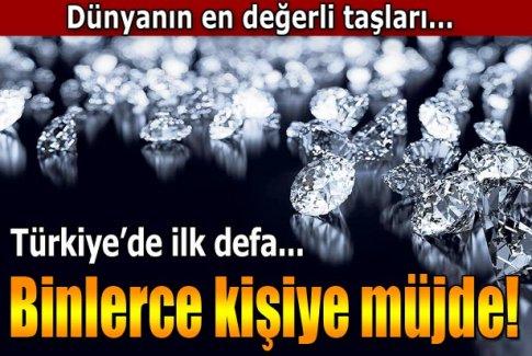 Afrika elmasını Türkler kesecek!