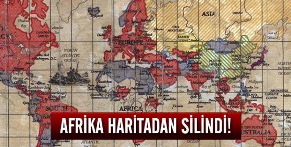 Afrika haritadan silindi!
