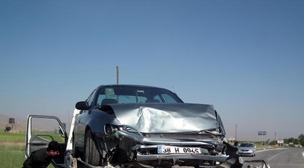 Afşin'de Kaza: 1 Yaralı