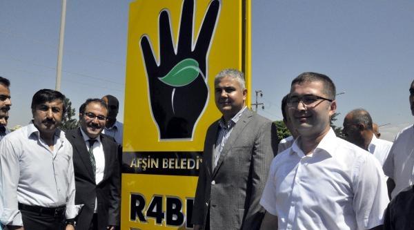Afşin'de Rabia Parkı Törenle Açıldı