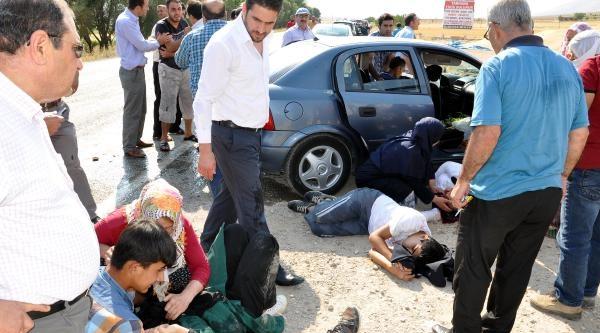 Afşin'de Zincirleme Kaza: 6 Yaralı
