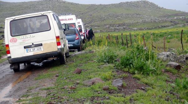 Ağaca Yıldırım Düştü, 3 Çoban Yaralandı
