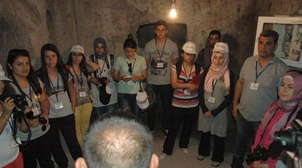 Ağırnas'taki 3 Yeraltı Şehrine Ziyaretçi İlgisi