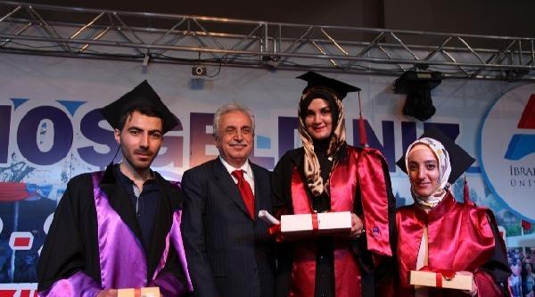Ağrı İbrahim Çeçen Üniversitesi'nde Mezuniyet Coşkusu