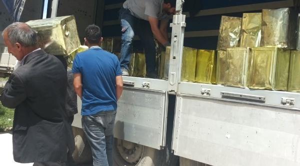 Ağrı'da 22 Ton Kaçak İran Balı Ele Geçirildi