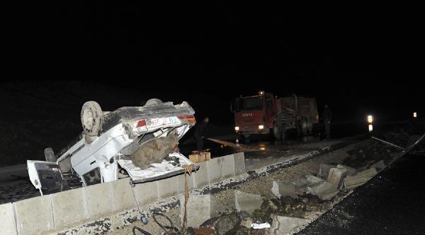 Ahlat'ta Kaza: 5 Yaralı