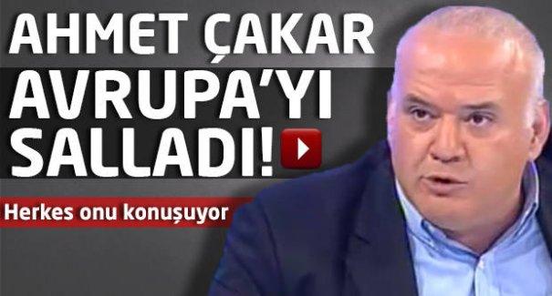 Ahmet Çakar dünya gündemi oldu! -İZLE
