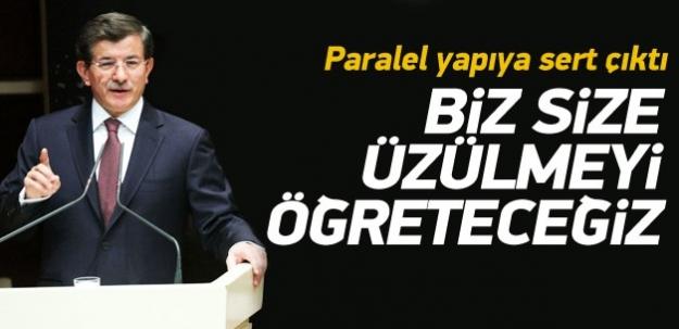 Ahmet Davutoğlu'ndan paralel yapıya sert çıkış