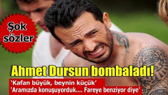 Ahmet Dursun bombaladı!