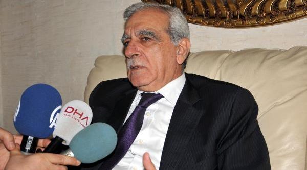 Ahmet Türk: Hassas Dönemde Düğmeye Basilmasi Şaşilacak Bir Durum Değil