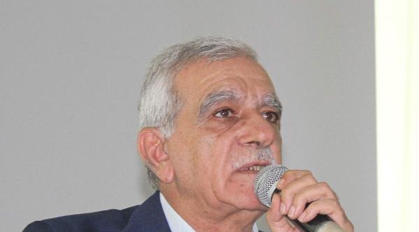 Ahmet Türk: İsmim Yolsuzlukla Anılırsa İntihar Ederim