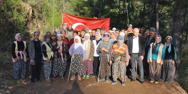 Ahmetler Kanyonu'nda Köylülerden Hes Karşiti Nöbet