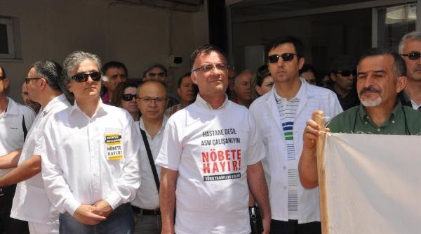 Aile Hekimleri, Acil Nöbetleri Protesto Etti