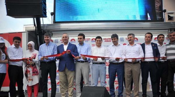 Ak Parti Antalya Cumhurbaşkanlığı Seçim Ofisi Açıldı