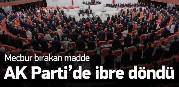 AK Parti'de ibre MHP'ye döndü