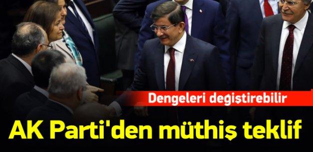 """AK Parti'den """"vekil sayısı artırılsın"""" teklifi"""