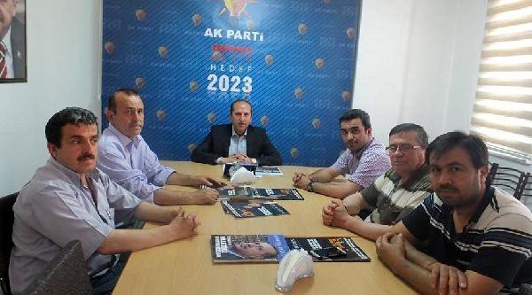 Ak Parti Eskipazar İlçe Yönetimi İstifa Etti