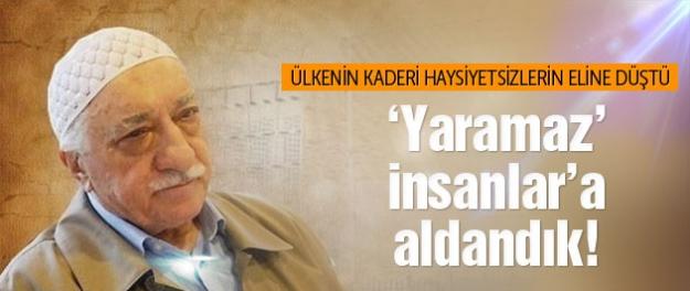 AK Parti için 'yaramaz adamlar' dedi