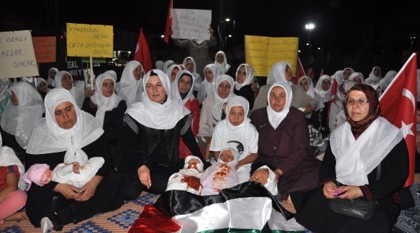 Ak Parti Kadın Kollarından Gazze Protestosu