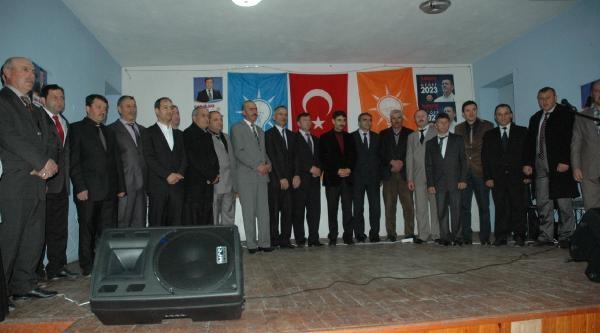Ak Parti Milletvekili Atalay, Eleştirdiği Chp'yi Ziyaret Etti