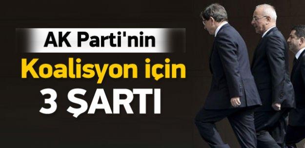 AK Parti'nin ödün vermeyeceği 3 kırmızı çizgi