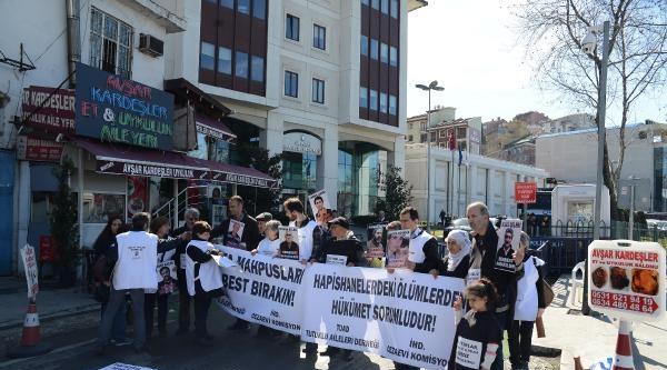 Ak Parti Önünde Hasta, Tutuklu Ve Hükümlüler İçin Eylem