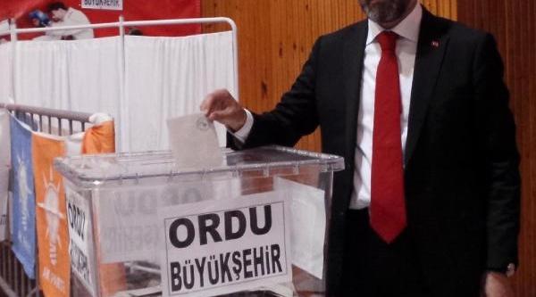 Ak Parti Ordu Büyükşehir Belediye Başkan Adayi Enver Yilmaz Heyecan Yaratti