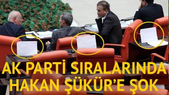 AK Parti sıralarında Hakan Şükür'e şok