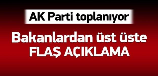 AK Parti toplanıyor