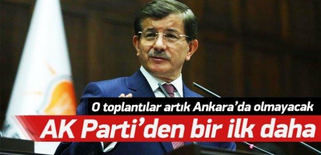 AK Parti toplantıları Türkiye'ye yayılıyor