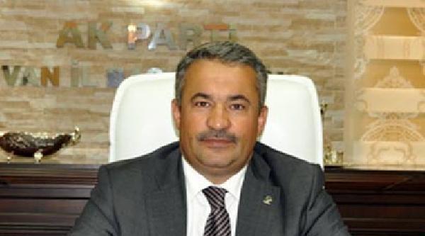 Ak Parti Van İl Başkanı'ndan Feyzioğlu'na Tepki