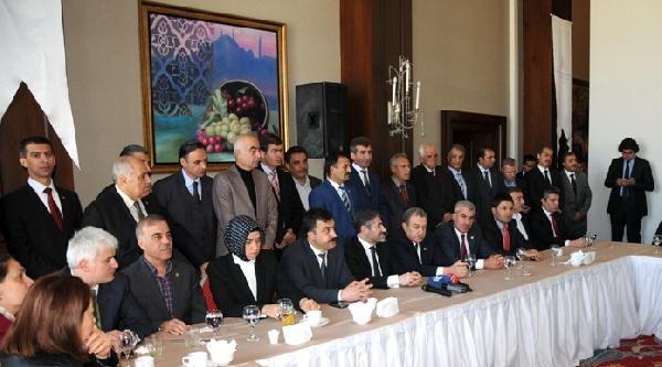 Ak Partili 30 Vekil, Güler'le Mardin'e Çikarma Yaptı