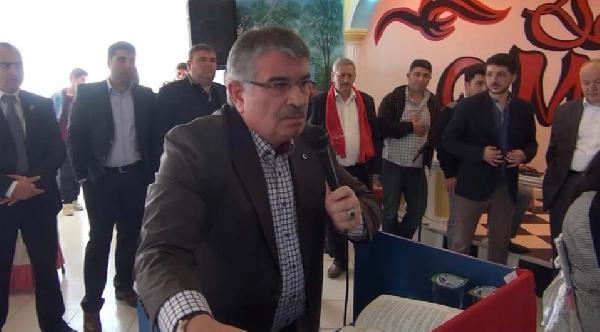 Ak Partili Eski Bakan İdris Naim Şahin'den Chp Adayına Destek