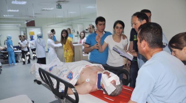 Ak Partili Güvenç Kazada Yaralandı