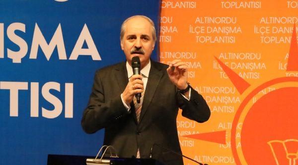 Ak Partili Kurtulmuş: Türkiye'de Yeni Acılara Vesile Olunmaması Lazım