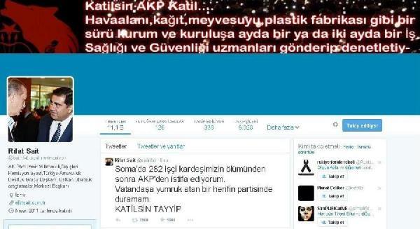 Ak Parti'li Sait'in Twıtter Hesabı Hacklendi