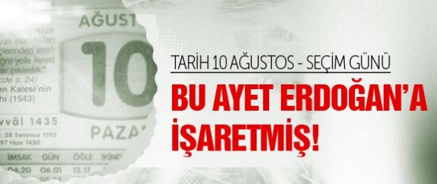 AK Partililerin paylaştığı Tayyip Erdoğan ayeti!