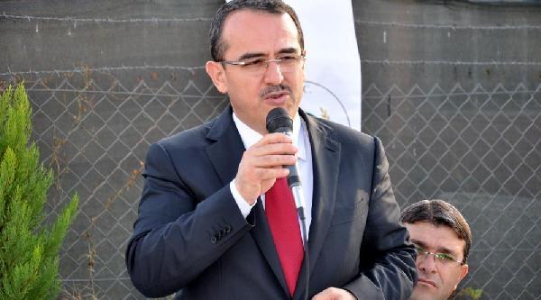 Ak Parti'nin Hatay Büyükşehir Belediye Başkan Adayi Bakan Sadullah Ergin