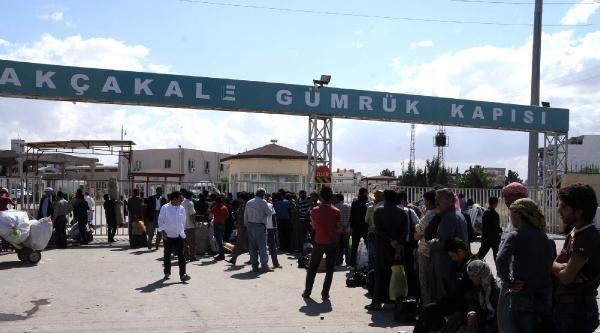 Akçakale Gümrük Kapısı Işid Tehdidi Nedeniyle 156 Gündür Geçişlere Kapalı