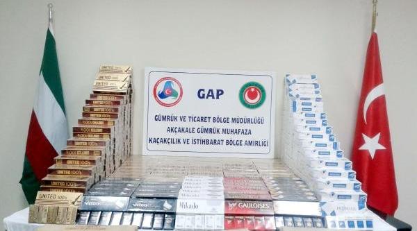 Akçakale'de Kaçak Sigara Operasyonu: 6 Gözalti