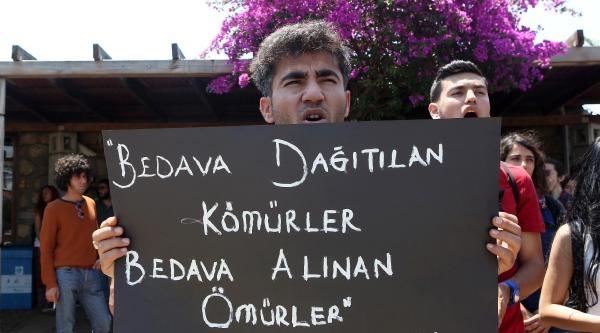 Akdeniz Üniversitesi'nde Soma İçin Ders Boykotu