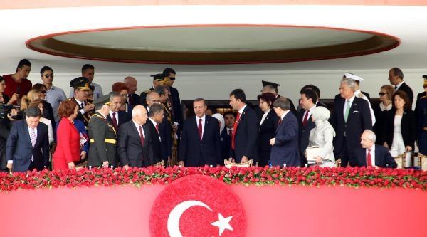 Akm'deki 30 Ağustos Zafer Bayramı Töreninde 'o' Anlar / Ek Fotoğraflar
