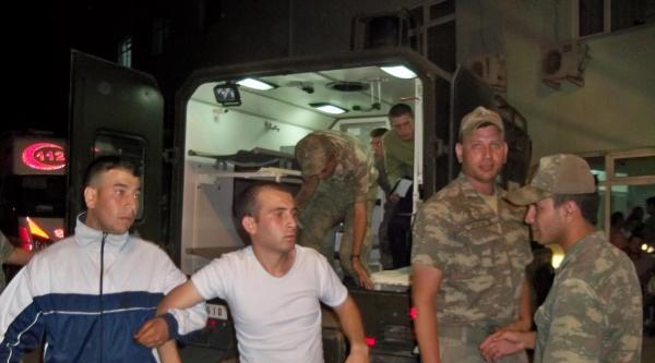 Akşam Yemeğinden Zehirlenen 150 Asker Hastanelik Oldu